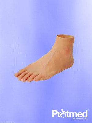 proteza po amputacji w obrębie stopy. Protezy kończyn