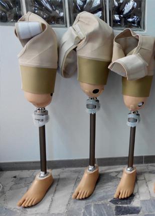 proteza tymczasowa uda